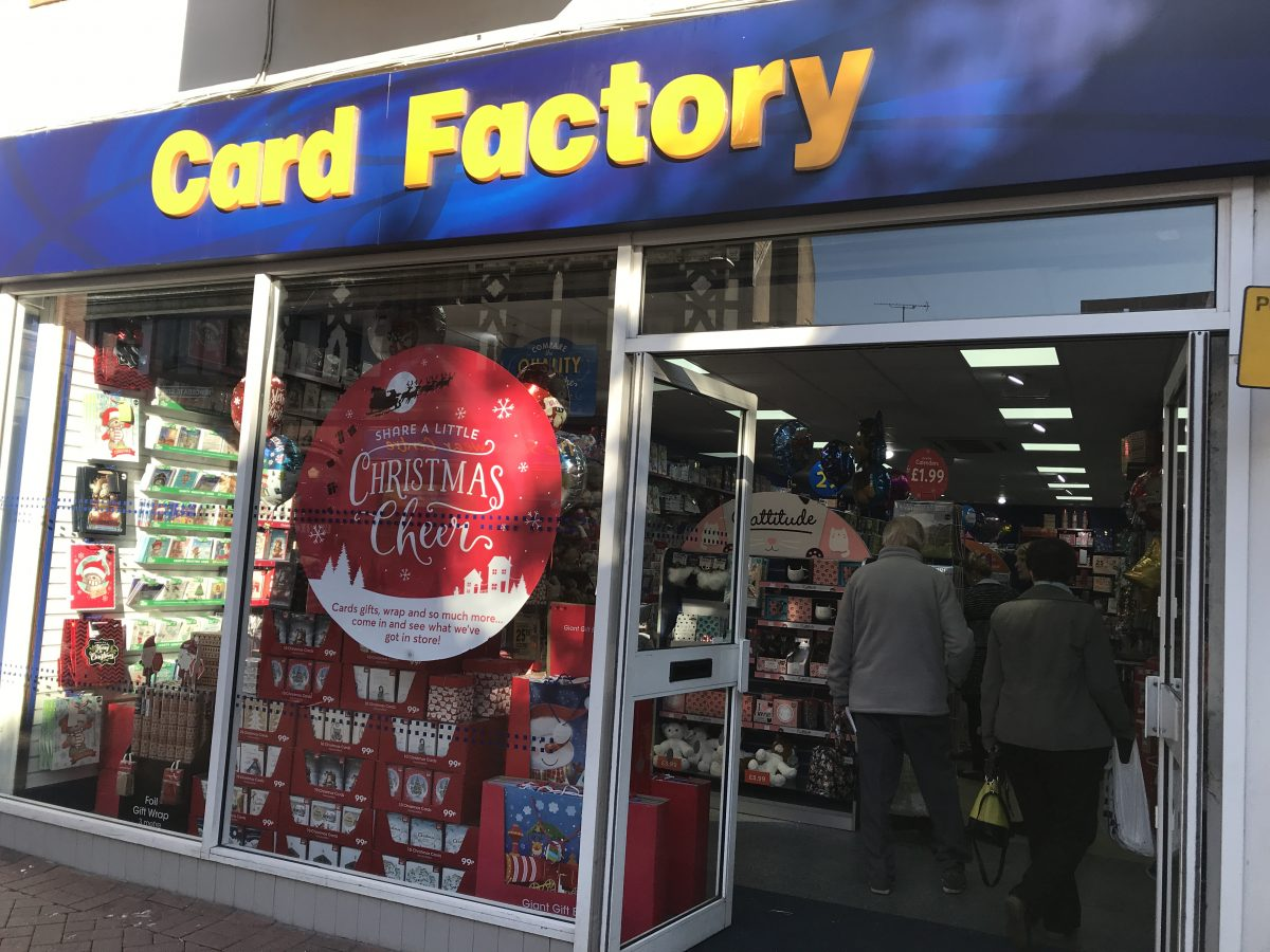 Card Factory-Nuneaton
