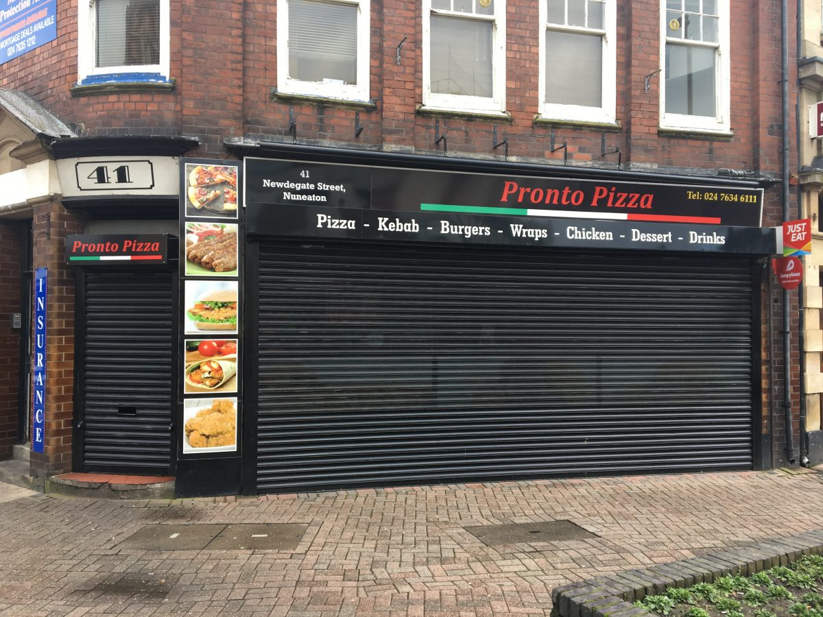 Pronto Pizza - Nuneaton
