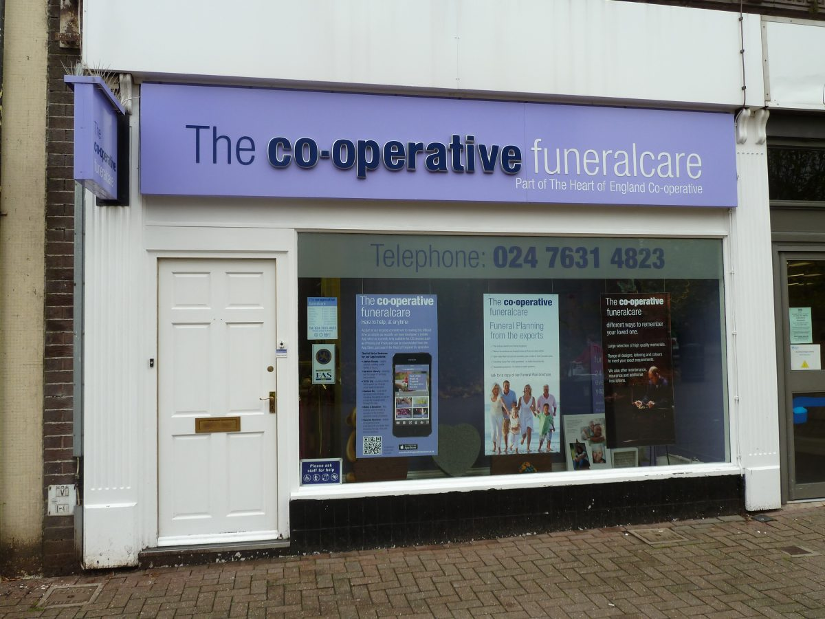 Coop Funeral care - Bedworth