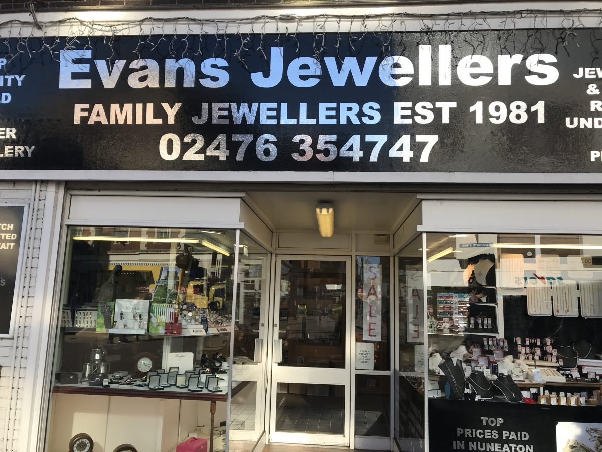Evans Jewellers-Nuneaton