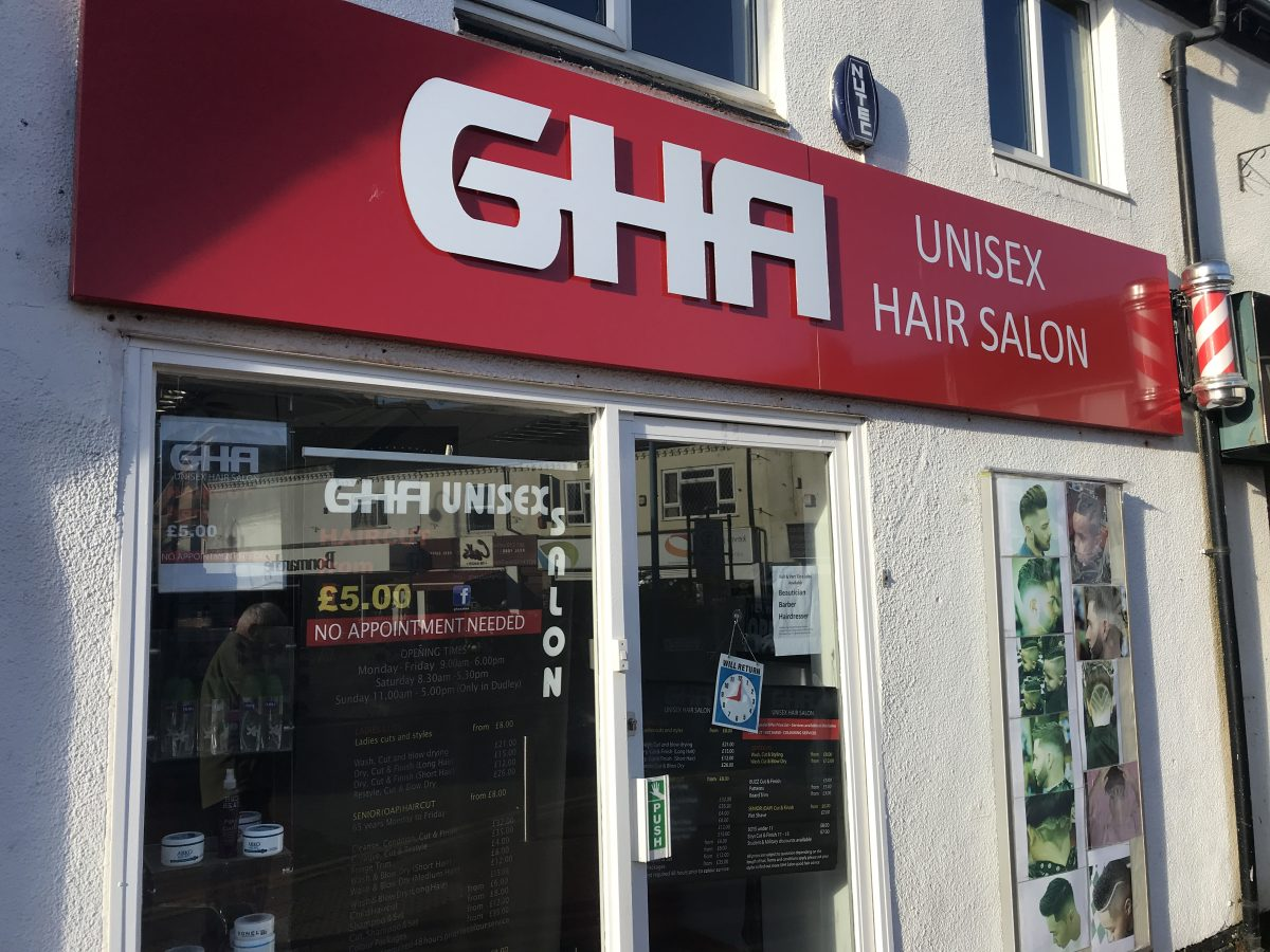 GHA Unisex Hair Salon-Nuneaton
