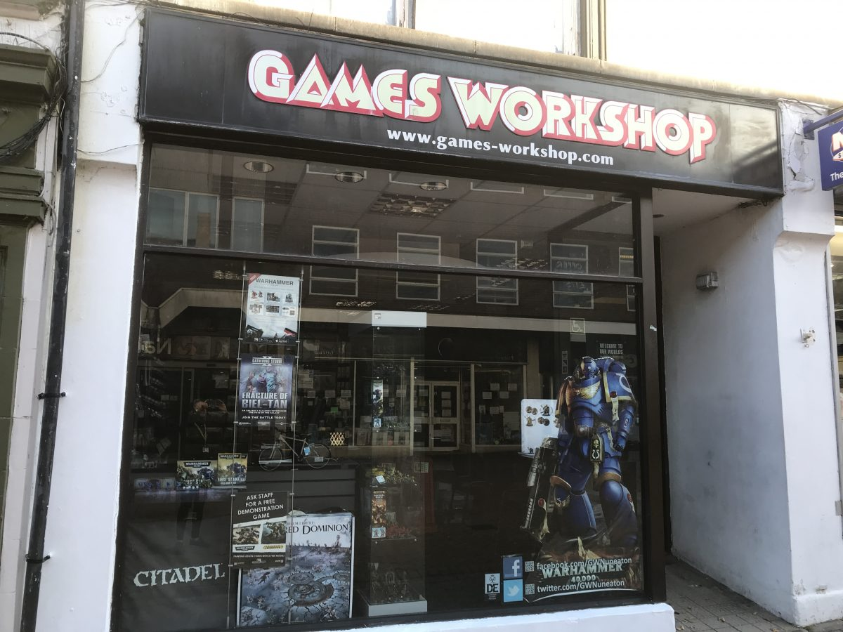 Games Workshop-Nuneaton