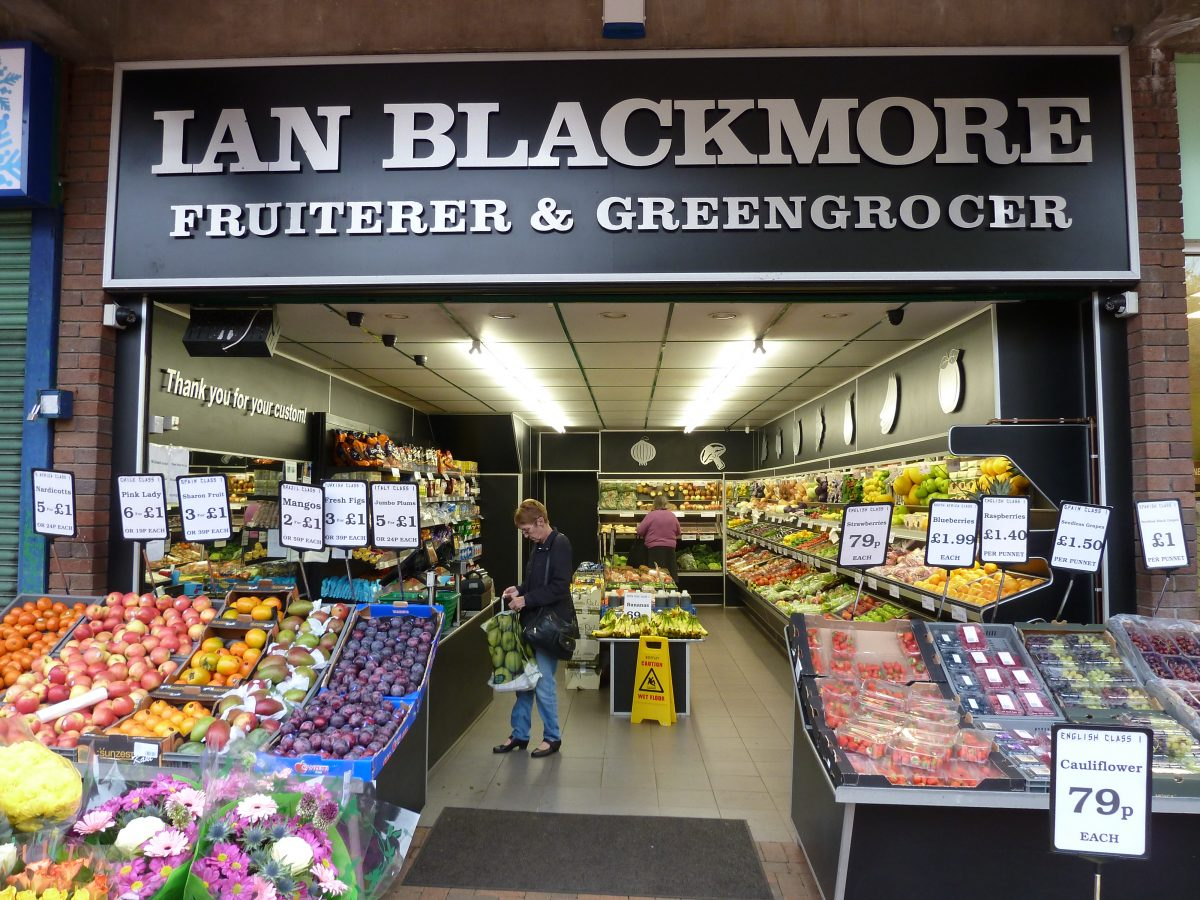 Ian Blackmore Green Grocers - Bedworth