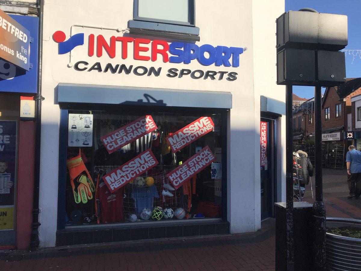 Inter Sport Cannon Sports - Nuneaton