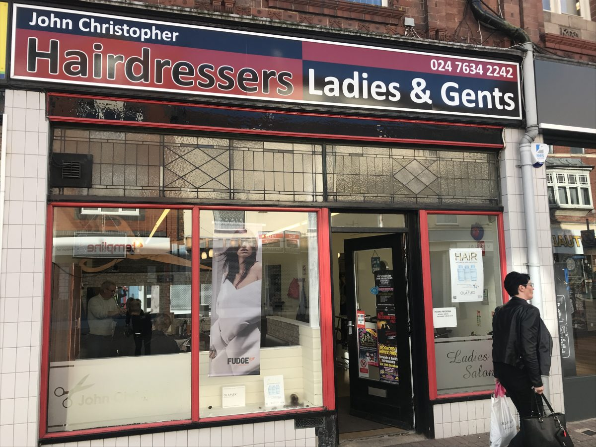 John Christopher Hairdressers-Nuneaton