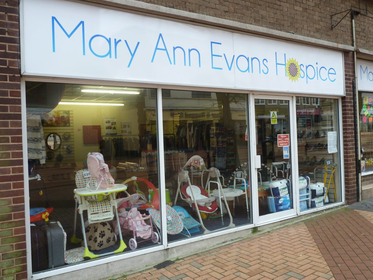 Mary Ann Evans hospice - Bedworth