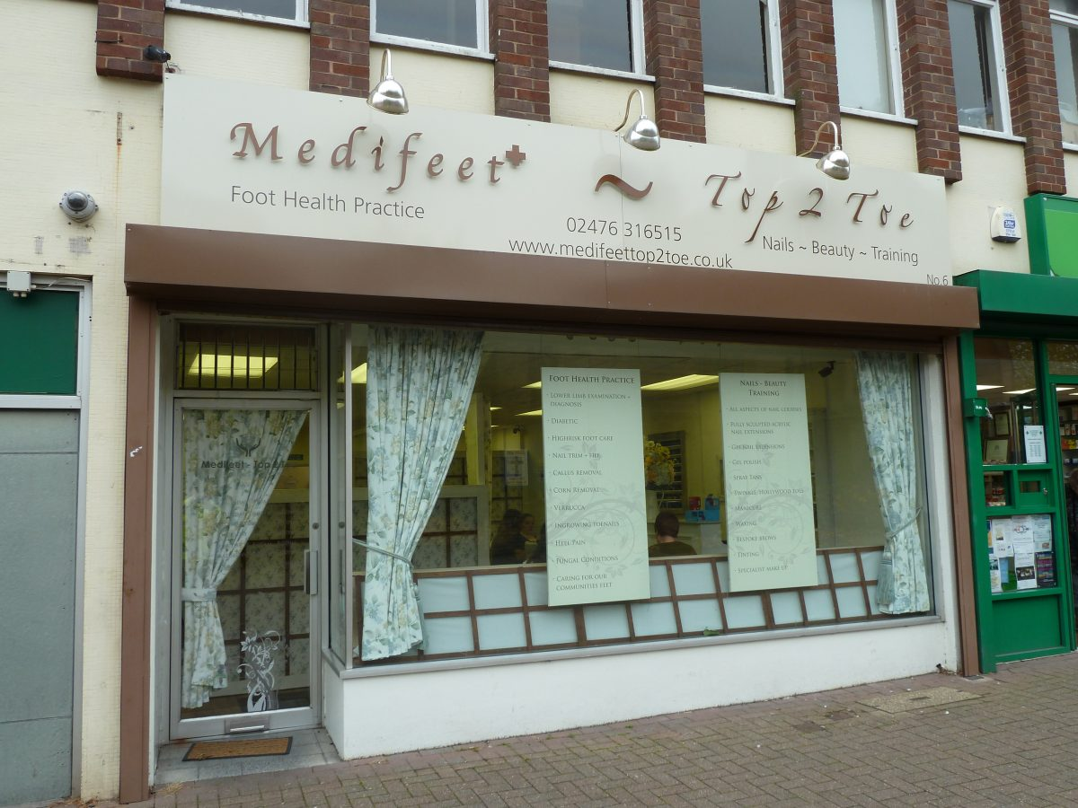Medifeet and Top2toe - Bedworth