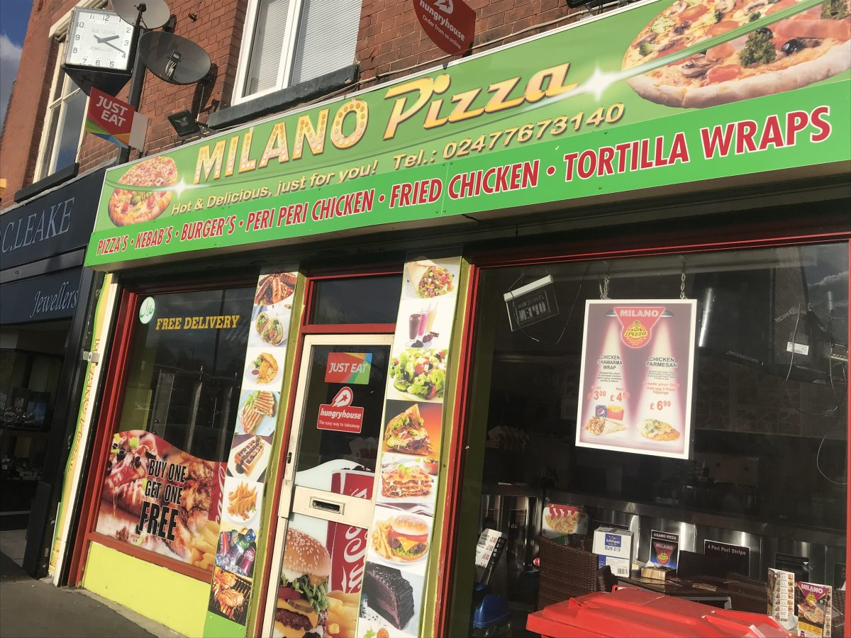 Milano Pizza - Nuneaton