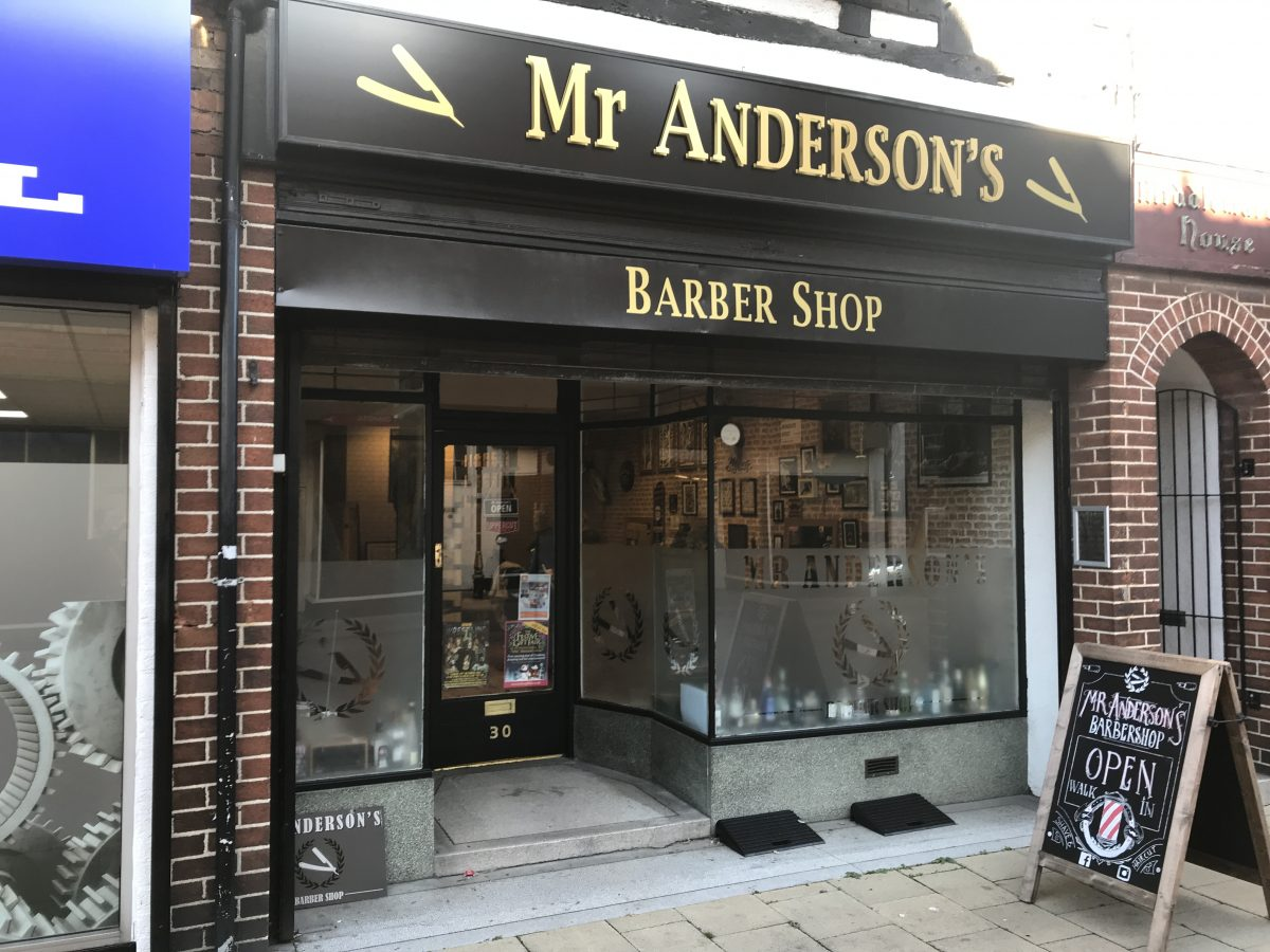 Mr Andersons Barber Shop-Nuneaton
