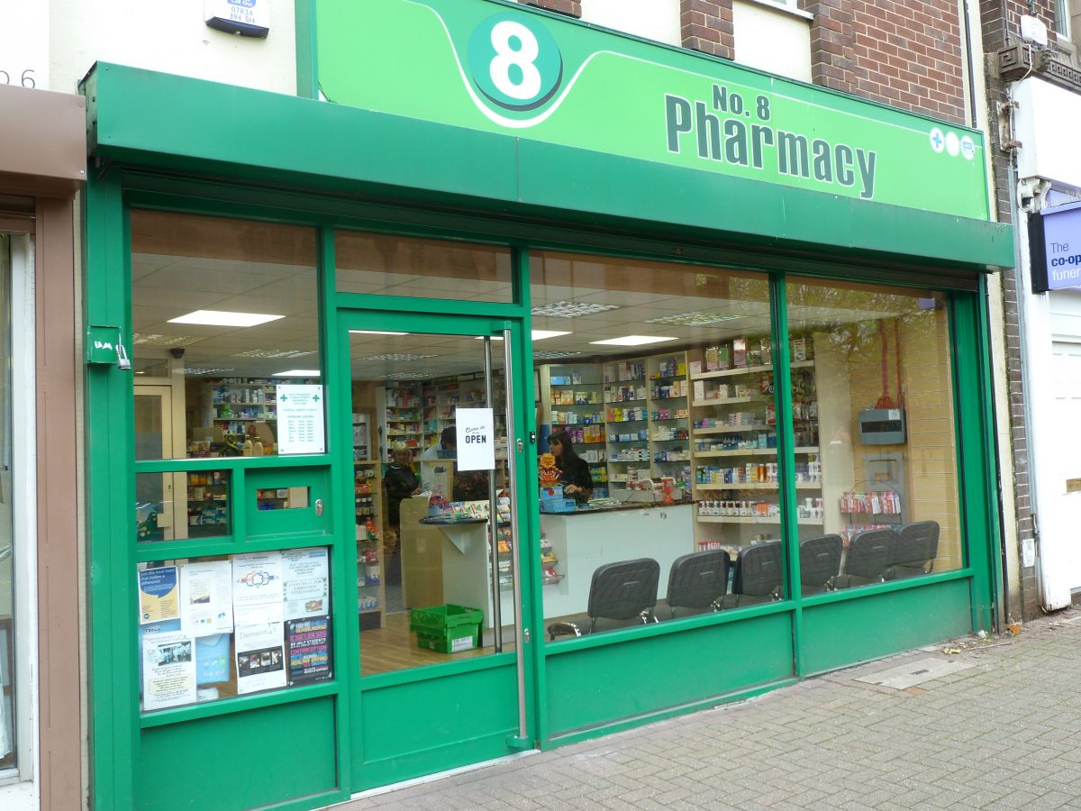 No8 pharmacy - Bedwroth