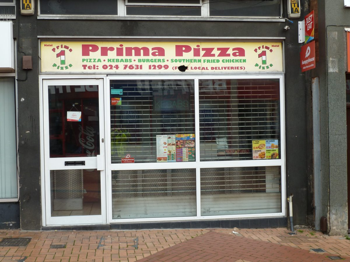 Prima Pizza - Bedworth