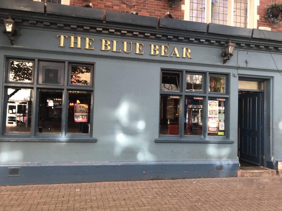 The Blue Bear-Nuneaton