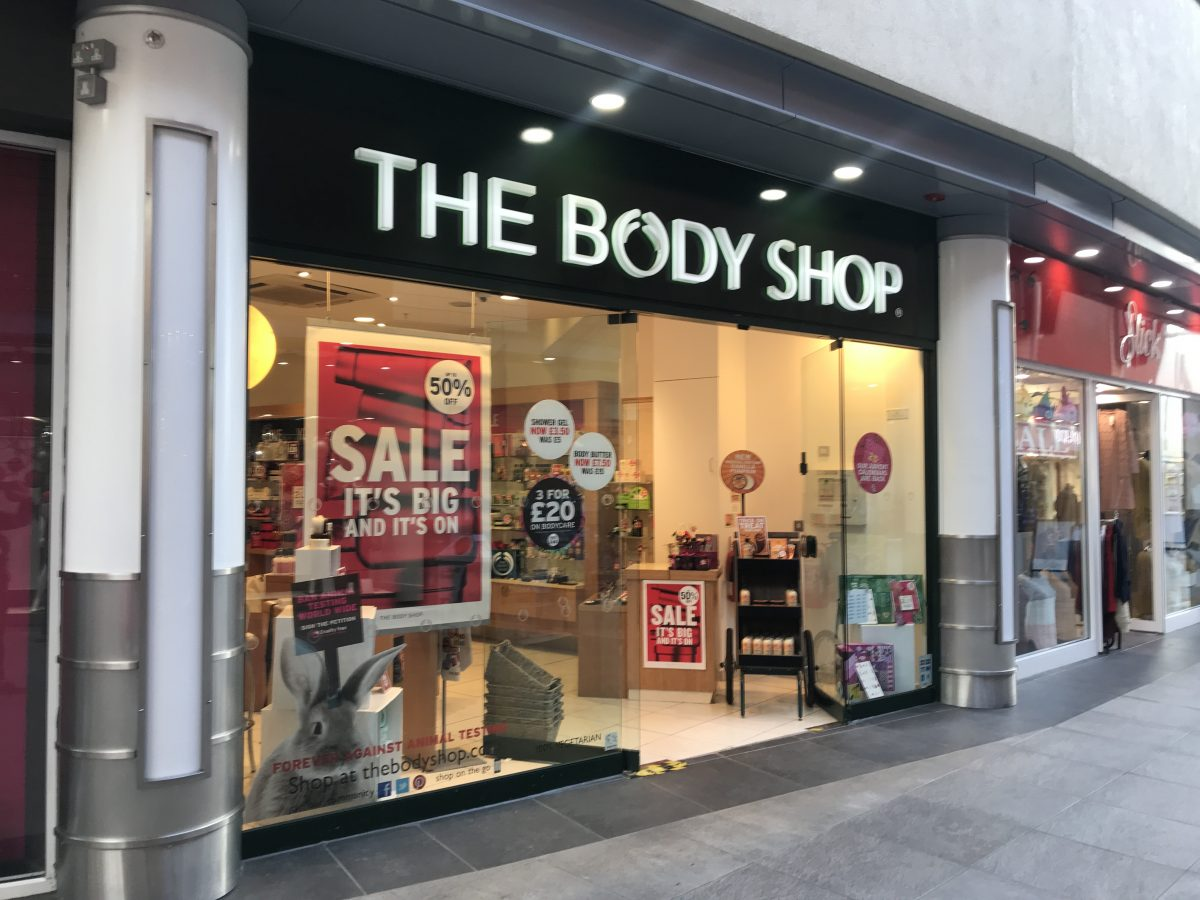 The Body Shop-Nuneaton