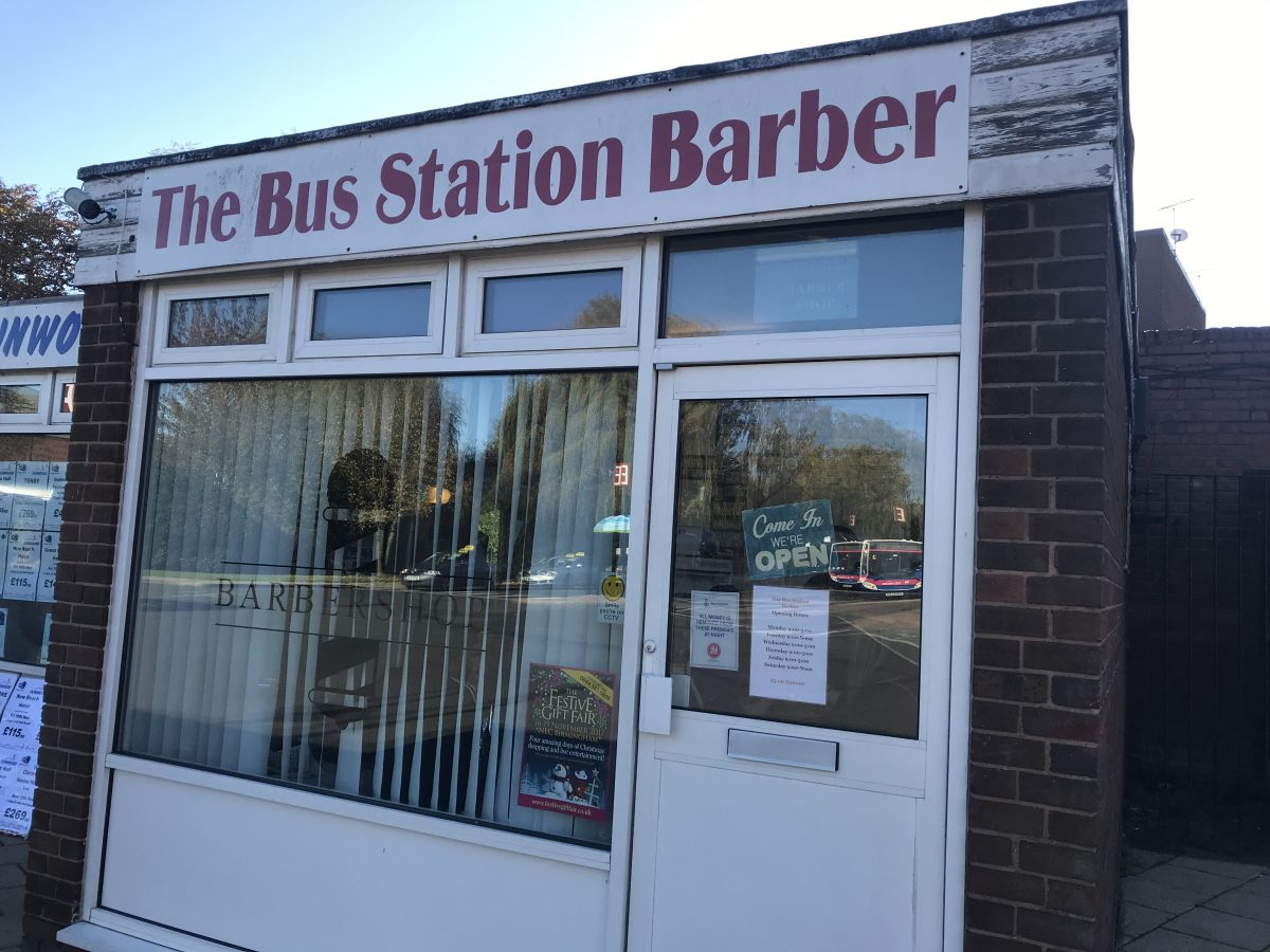 The Bus Station Barber - Nuneaton